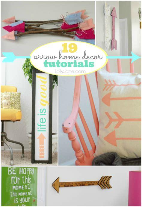 diy home decor tutorials arrow home decor tutorials