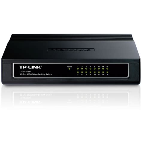 Switch Hub 16 Port Tp Link tp link 16 port unmanaged 10 100 desktop switch hub tl sf1016d tl sf1016d kenable for hdmi