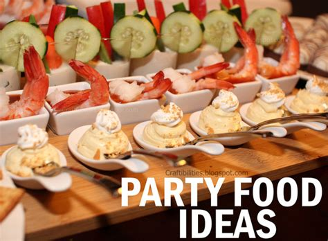 Cocktail Party Food Ideas - craftibilities january 2014