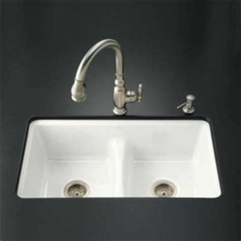 undermount kitchen sink white k5838 7u 0 deerfield white color undermount bowl