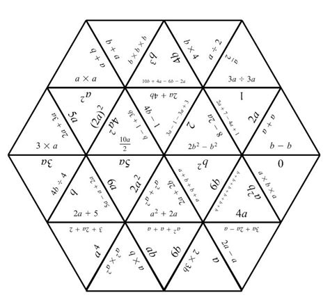 printable maths jigsaw puzzles tarsia puzzles mathematics learning and technology