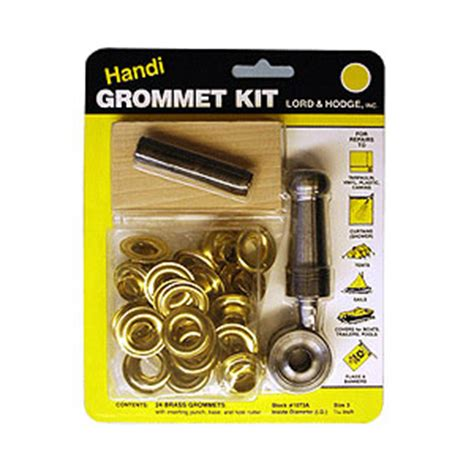 grommet tool kit for curtains miami cordage 187 grommet kit