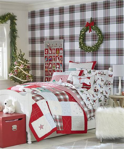 kids christmas bedding kids christmas bedding santa holiday christmas quilt