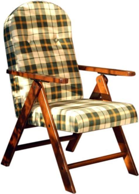poltrone pieghevoli imbottite poltrona sedia sdraio relax in legno pieghevole cuscino