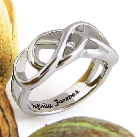 infinity ring promise ring infinity symbol ring by