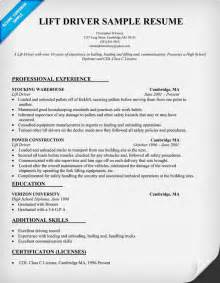 Sample Resume Format Driver by Resume Format Resume Templates Driver