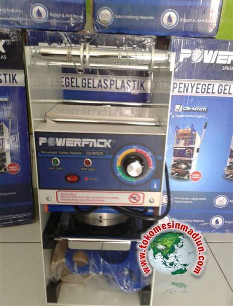 Alat Pres Gelas Plastik Surabaya mesin manual cup sealer powerpack toko alat mesin usaha