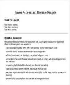 junior accountant resume 33 accountant resumes in doc free premium templates