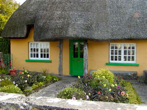 Cottages Ireland Adare Thatched Cottage Fireside Travel And Culture