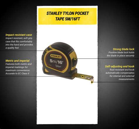 Tyes Meteran 5m Stanley Tylon 30 696 stanley tylon 5m 16ft 19mm blade 1 30 696 measures the store