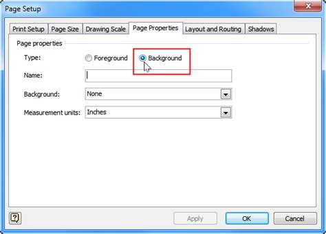 visio 2010 page setup possible to use a visio page as a layer on another page