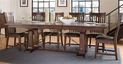 Hayden Dining Table Hayden Trestle Dining Tabe