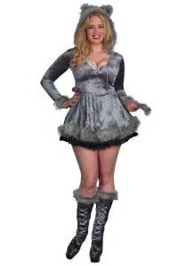 wolf halloween costume for girls plus size bad wolf costume