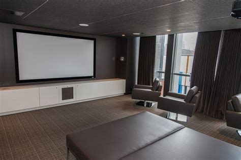 screening rooms toronto touring the interiors at one park place toronto