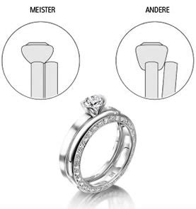 Verlobungsring Und Ehering by Verlobungsringe Meister