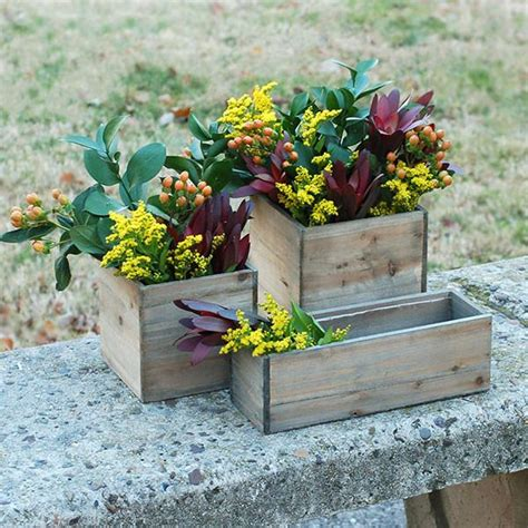 Small Wood Planter Box by Small Wooden Planter Box Stylwed