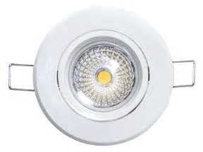 luminaire led rond encastrable et orientable 6w encastr 233