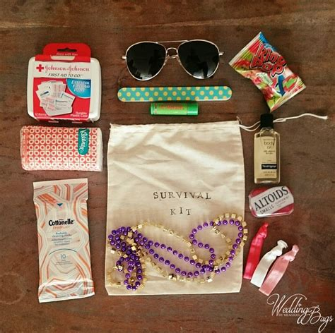 Souvenir Hers Goodie Bag Pouch Pipih 17 best images about bridesmaid emergency kits on