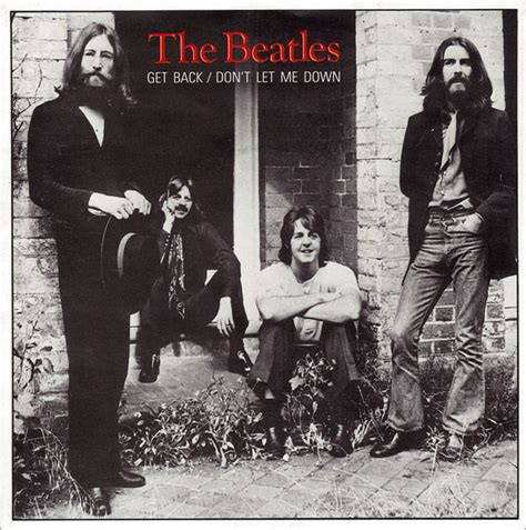 the beatles don t let me down rooftop the beatles get back don t let me down vinyl