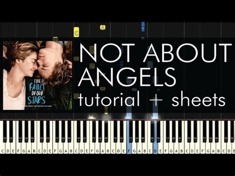 tutorial piano not about angels full video not about angels piano tutorial how to