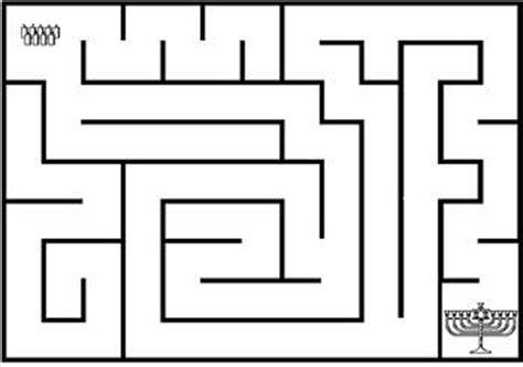 printable hanukkah maze hanukkah printable activities let s celebrate