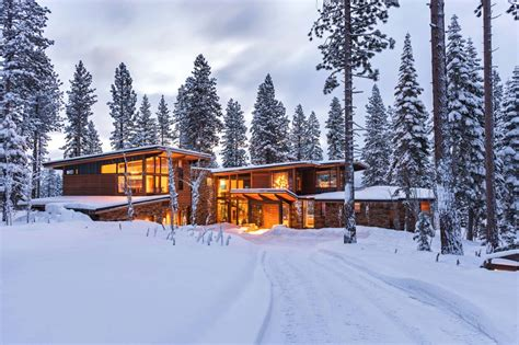 Modernist refuge of stone wood steel and glass in martis camp decor advisor