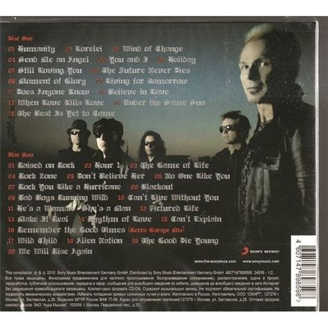 best scorpion songs greatest hits by scorpions cd x 2 with rockinronnie ref