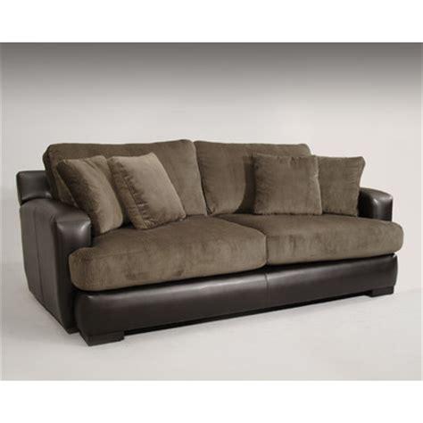 Wildon Home 174 Bally Leather Polyester Sofa