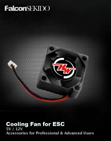 Hobbywing Esc Fan 12v By Rclung cooling fan 2510 series hobbywing america