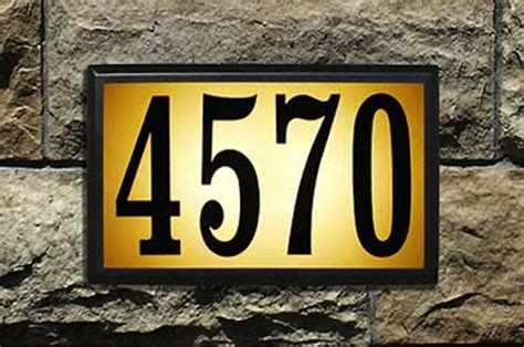 lighted house numbers home depot it s all in the details house numbers bob s blogs