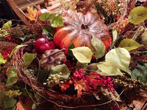 fall harvest centerpiece wild petals antiques home accessories cu