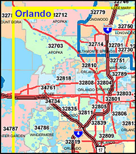 zip code map florida orange county florida map with zip codes criesoftheheart