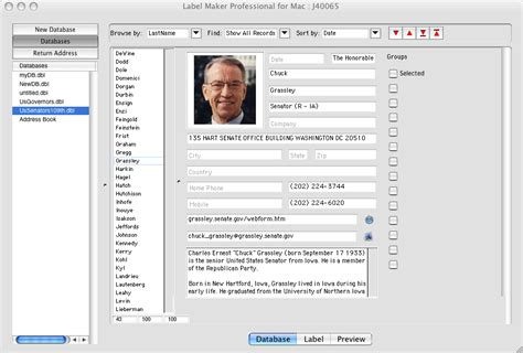 database software creator archives