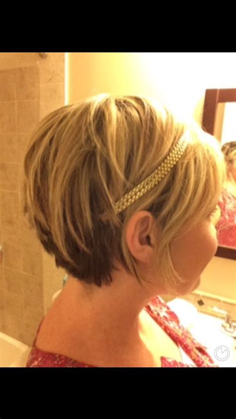 short layers crown long lat 25 best ideas about pixie cut headband on pinterest