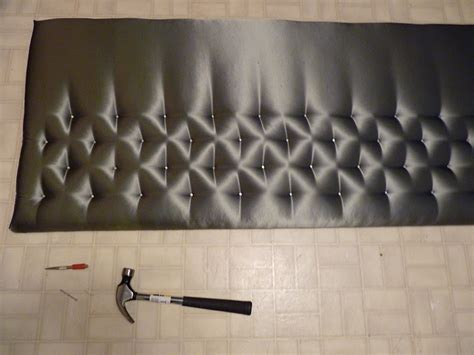 d i y d e s i g n simple tufted headboard