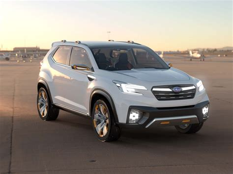 subaru forester redesign 2019 subaru forester previewed by viziv future concept