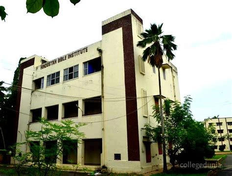 Hindustan College Agra Mba Fees by Hindustan Bible Institute Hbi Chennai Courses Fees
