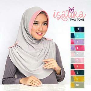 Jilbab Instan Warna Kuning jilbab isaura 2 warna jilbab instan
