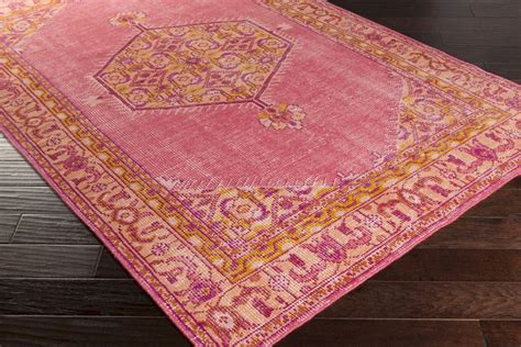 Pink Area Rugs 8x10 Surya Zahra Zha 4005 Burnt Orange Pink Gold Area Rug