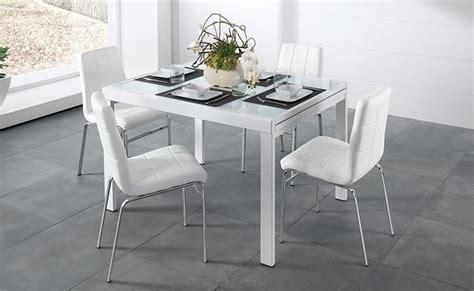 tavolo allungabile mondo convenienza tavolo quadrato allungabile soluzione moderna e