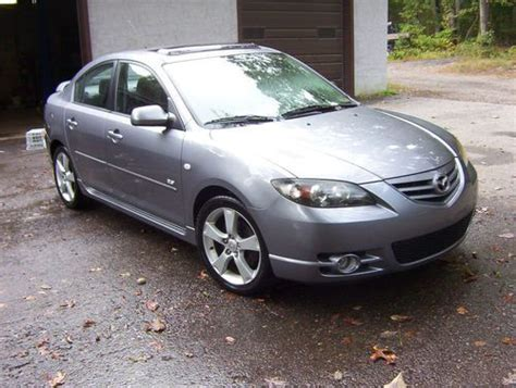 mazda 3 stick shift buy used 2004 mazda3 gray s sport stick shift moonroof