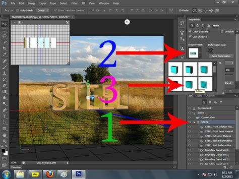 adobe photoshop cs6 quick tutorial 3d text with adobe photoshop cs6 extended quick easy