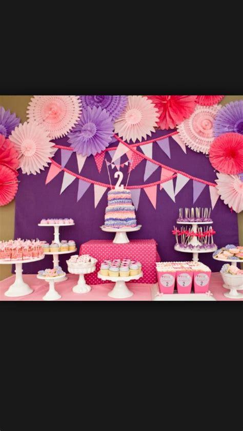 Eleanor Pink Purple 7 8th 2 year birthday hailey s 2nd birthday