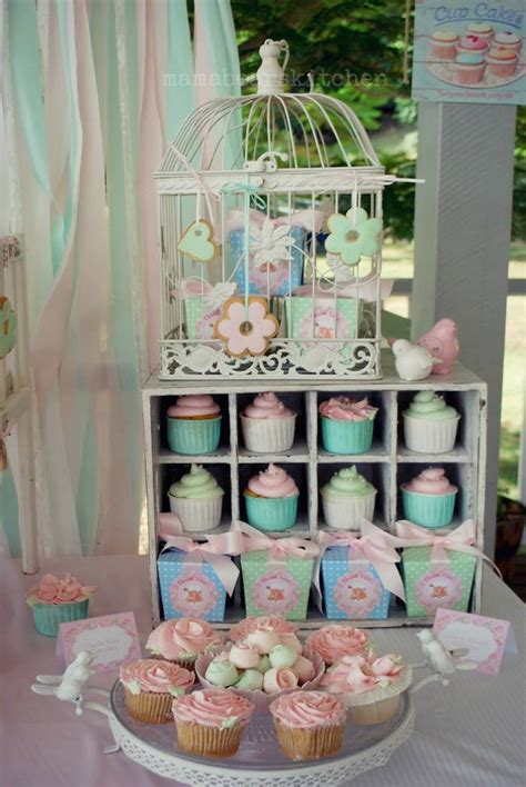 shabby chic baby shower ideas kara s ideas shabby chic pink and mint baby shower