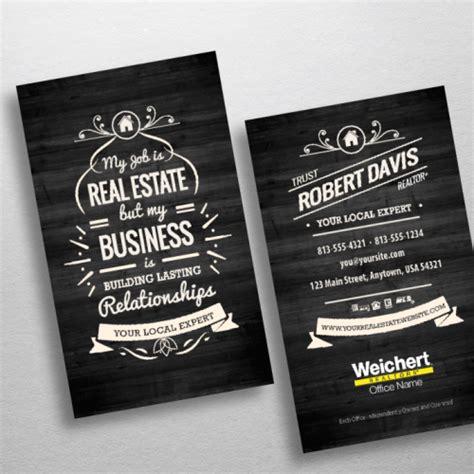 weichert business card template weichert realtors business card templates free shipping
