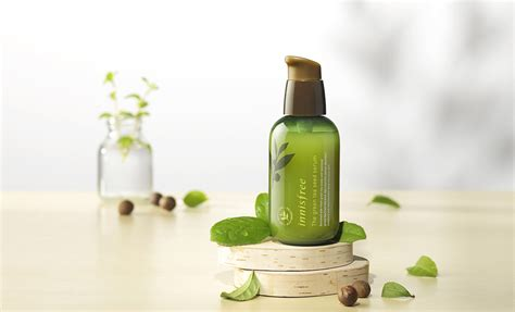 Serum Rd innisfree green tea seed serum and skincare products review
