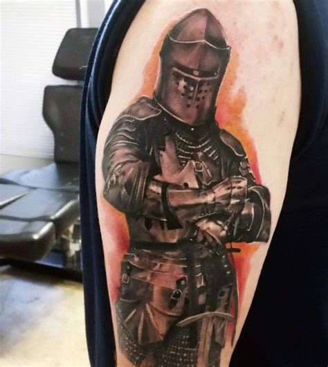 angel knight tattoo meaning top 80 best knight tattoo designs for men brave ideas