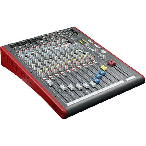 Mixer Allen Heath Zed 12 allen heath zed 12fx 12 channel recording mixer ah zed12fx