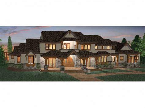 Prairie Home Floor Plans by Six Bedroom Prairie Hwbdo68465 Craftsman From