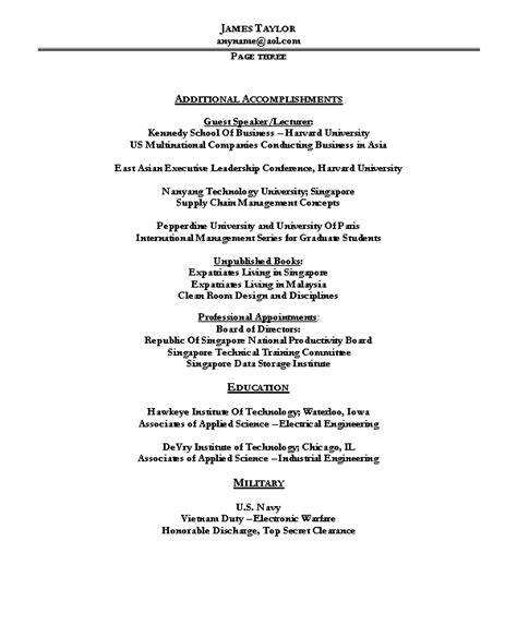 resume sample 10 operations management resume career